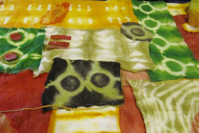 B7: Mosaic Tunic: Dyeing to Runway
