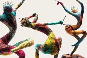 B5: Figurative Felt Sculpture - Contemporary Dancer (2 Days) - 1 SPACE AVAILABLE